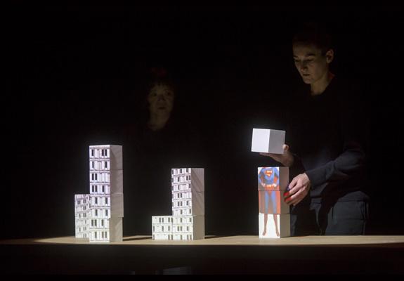 Cubix Mathieu Enderlin Théâtre sans toit photo