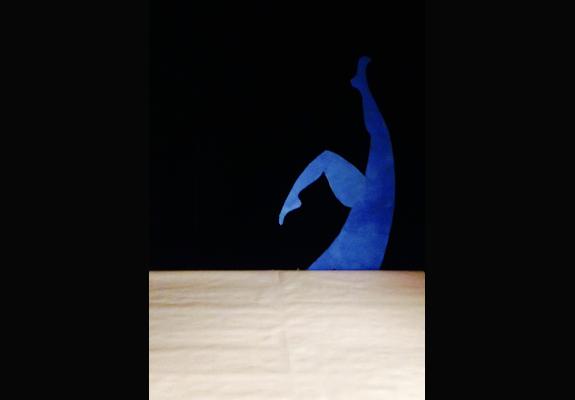 La Feuille blanche - Cie Tenir debout