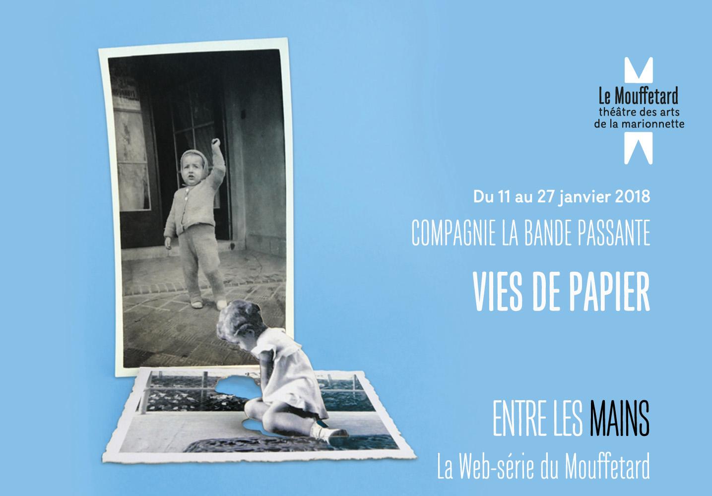 Web serie du mouffetard - Vie de papier - Compagnie la Bande Passante