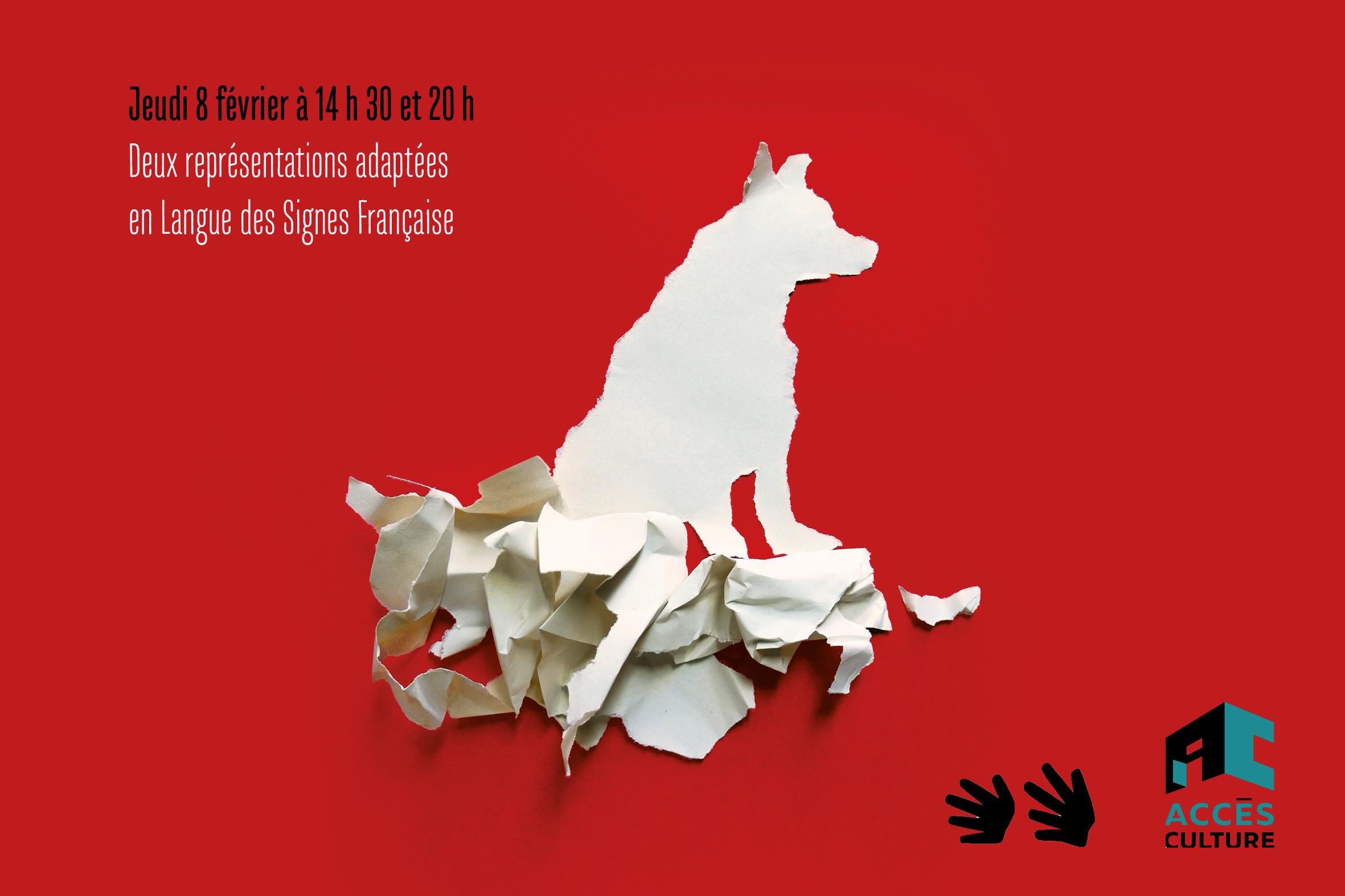 White Dog - Les Anges au plafond - Représentations en LSF